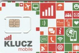Poland - Klucz Mobile (standard, Micro SIM) - GSM SIM  - Mint - Poland
