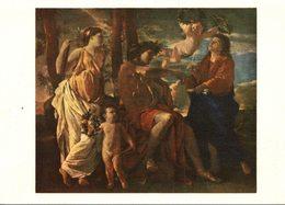 PEINTURE FRANCAISE LE XVIIe SIECLE NICOLAS POUSSIN 1595-1665 L'INSPIRATION DU POETE - Peintures & Tableaux