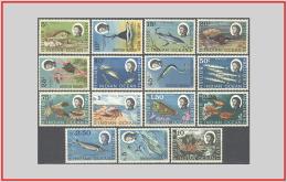 Territorio Britannico Dell'oceano Indiano BIOT 1968/73 - Cat. 16/30 (MNH **) Vita Marina - Marine Life (009245) - British Indian Ocean Territory (BIOT)