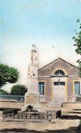 Champagné Les Marais : Le Monument Au Morts, La Salle Des Fête - Frankrijk