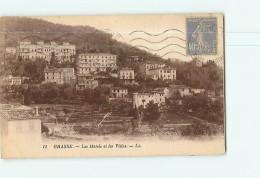 GRASSE -  Hôtels Et Villas - 2 Scans - Grasse