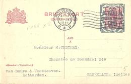 Pays-Bas Hollande Nederland Entier Postal, Ganzsachen, Postal Stationery. Carte Postale Postkarte - Postwaardestukken