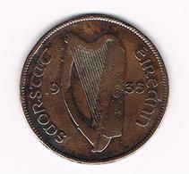 &  IERLAND ( EIREANN ) 1 PENNY  1935 - Ireland