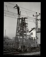 40 - Ligne Dax-Puyoo - Employé SNCF - Cheminot - 1953 - Photo BONNEL - Carte Moderne - France