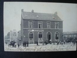 WELKENRAEDT : Place Communale Café-restaurant AUG. KREUSCH En 1905 - Welkenraedt