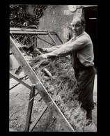 37 - AZAY-SUR-CHER - Fabrication De Haies De Bruyère - Métiers - 1986 - Photo BOURGEOIS - France
