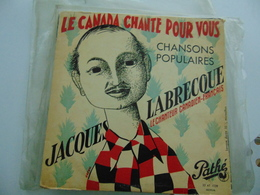 """Jacques Labrecque- Le Canada Chante Pour Vous/ Chansons Populaires (10"""") - Special Formats"""