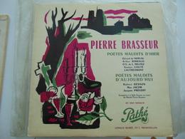 "Pierre Brasseur- Poetes Maudits D'hier & D'aujourd'hui  (10"") - Special Formats"