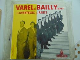 """Varel & Bailly Avec Les Chanteurs De Paris  (10"""") - Special Formats"""