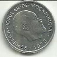 1 Centimo 1975 Moçambique Rare - Mozambique