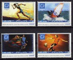 Athene 2004 Olympics Mnh Stamps Centrafricaine - Verano 2004: Atenas