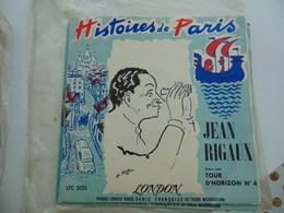 """Jean Rigaux- Histoires De Paris/Tour D'horizon No 4  (10"""") - Special Formats"""