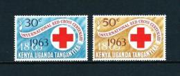 Kenya Y Uganda (Británica)  Nº Yvert  127/8  En Nuevo - Kenya & Uganda
