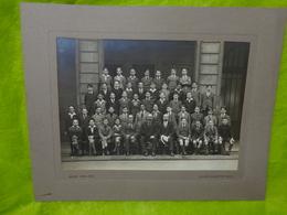 Grande Photo De Groupe D'élèves Ecole Turgot Paris Année ???? Photographe De Pierre Petit - Persone Anonimi