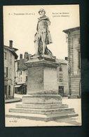 CPA: 71 - TOURNUS - STATUE DE GRUZE (PEINTRE ILLUSTRE) - France