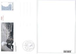 Island Iceland Islande 2011 Postcard Postkarte Sigurdsson Birthday Geburtstag Mint Postfrisch Neuf MNH ** - Entiers Postaux