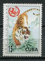 Cuba 2007 / Mammals Big Cats Tigers MNH Tigres Felinos Säugetiere / Cu8622  C3 - Big Cats (cats Of Prey)