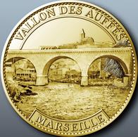 13 MARSEILLE VALLON DES AUFFES MÉDAILLE TOURISTIQUE ARTHUS BERTRAND 2011 JETON MEDALS TOKENS COINS - Arthus Bertrand
