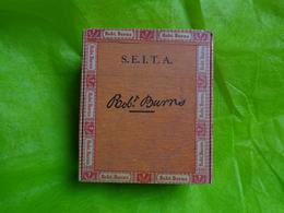 Boite Vide (bois) Cigarillos Robert Burns SEITA - Ohne Zuordnung