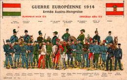 Guerre Européenne 1914 European War 1914 Armée Austro-Hongroise Pavillon Hongrois Pavillon Autrichien Dragon .. B.Etat - War 1914-18
