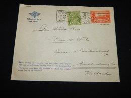 Australia 1934 Sydney Slogan Cancellation Cover To Netherlands__(L-14068) - 1913-36 George V : Heads