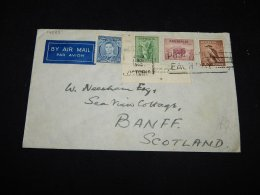 Australia 1940 Air Mail Cover To Scotland__(L-14085) - Covers & Documents
