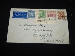 Australia 1940 Air Mail Cover To Scotland__(L-14085) - Luftpost