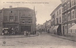 88  BRUYERES  Rue Jules Ferry Prise Du Carrefour Du Bailleux - Bruyeres
