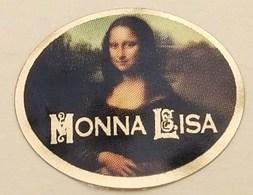 ETIQUETTE MONA LISA LA JOCONDE . LEONARD DE VINCI - Fruits & Vegetables