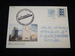 Estonia 1999 Tallinn M/S Regina Baltica Stationery Card__(L-16380) - Estonia