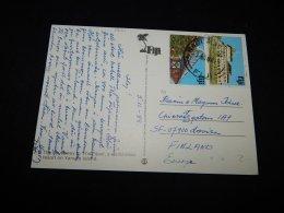 Fiji 1988 Postcard To Finland__(L-14101) - Fidji (1970-...)