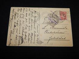 Finland 1916 Censored Card__(L-14475) - 1856-1917 Russian Government