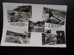 SOUVENIR DE ...  LA CIOTAT Multi Vues  Années 50 - Saluti Da.../ Gruss Aus...