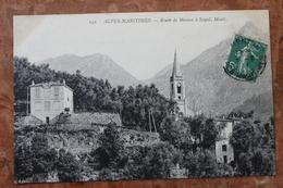 SOSPEL (06) - ROUTE DE MENTON A SOSPEL, MONTI - Sospel