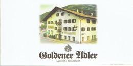 Présentation Du Gasthof Restaurant Goldener Adler, Wattens, Autriche (vers 2005) 12 P. - Publicités