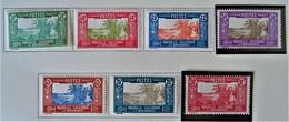 CASE DE CHEF INDIGENE 1928/38 - NEUFS * - YT 147/153 - New Caledonia