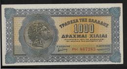 Grèce -  1000 Drachmes - Pick N°117 - SPL - Grèce