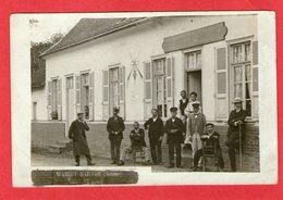 Carte Photo - WARLOY-BAILLON - Café OUTREQUIN-LEFEBVRE - 1906 - - France