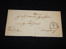 Germany 1800's Eggenfelden Letter__(L-14878) - Covers & Documents