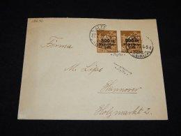 Germany 1923 Alfeld Infla Stamp Cover__(L-12636) - Infla