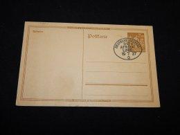 Germany 1927 Deutsche Seepost Ost-Afrika Stationery Card__(L-13285) - Ganzsachen