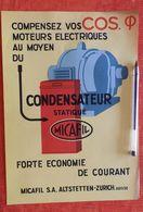 Micafil - Condensateur - 1931 - Switzerland