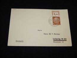 Germany 1935 Osnabruck Baune Messe Cancellation Card__(L-13433) - Deutschland