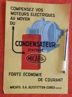 Micafil - Condensateur - 1933 - Switzerland