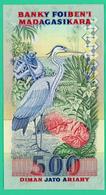 2500 Francs - Madagascar - N°. YD5342010 - Sup - - Madagascar