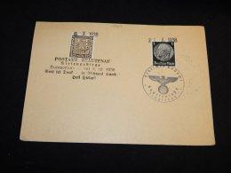 Germany 1938 Postamt Trautenau Card__(L-13968) - Covers & Documents