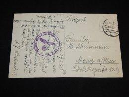 Germany 1940 Feldpost Card__(L-13726) - Deutschland