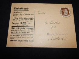 Germany 1943 Singen Business Cover__(L-14261) - Storia Postale