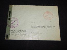Germany 1947 Kornwestheim Censored Cover__(L-13541) - Deutschland