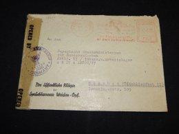 Germany 1947 Weiden Censored Cover To Munchen__(L-13537) - Deutschland